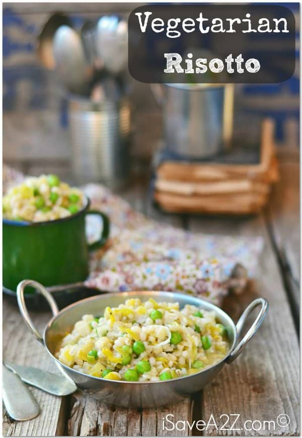 Vegetarian Risotto Recipe - This is a MUST TRY!!