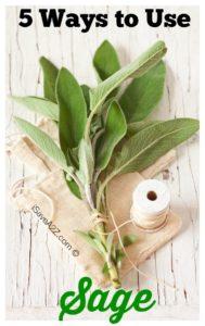 5 Ways to Use Sage
