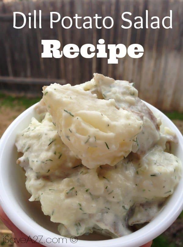 Dill Potato Salad Recipe Isavea2z Com