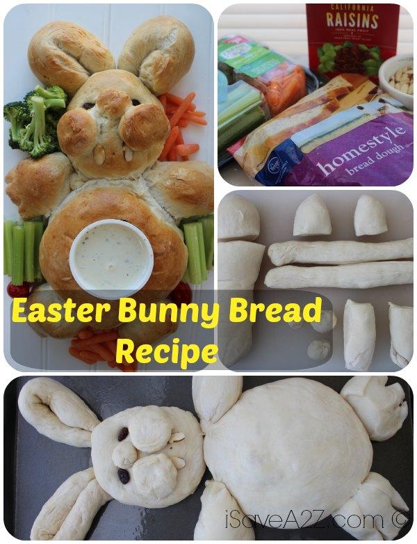 Easter Bunny Bread Recipe