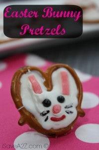 Easter bunny Pretzels