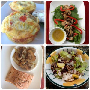 Low Carb Mushroom Omelet Muffins and #MushroomMakeover Week 1