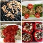 Quinoa Stuffed Peppers Recipe #MushroomMakeover Week3