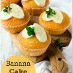 Banana Cake Muffins Recipe