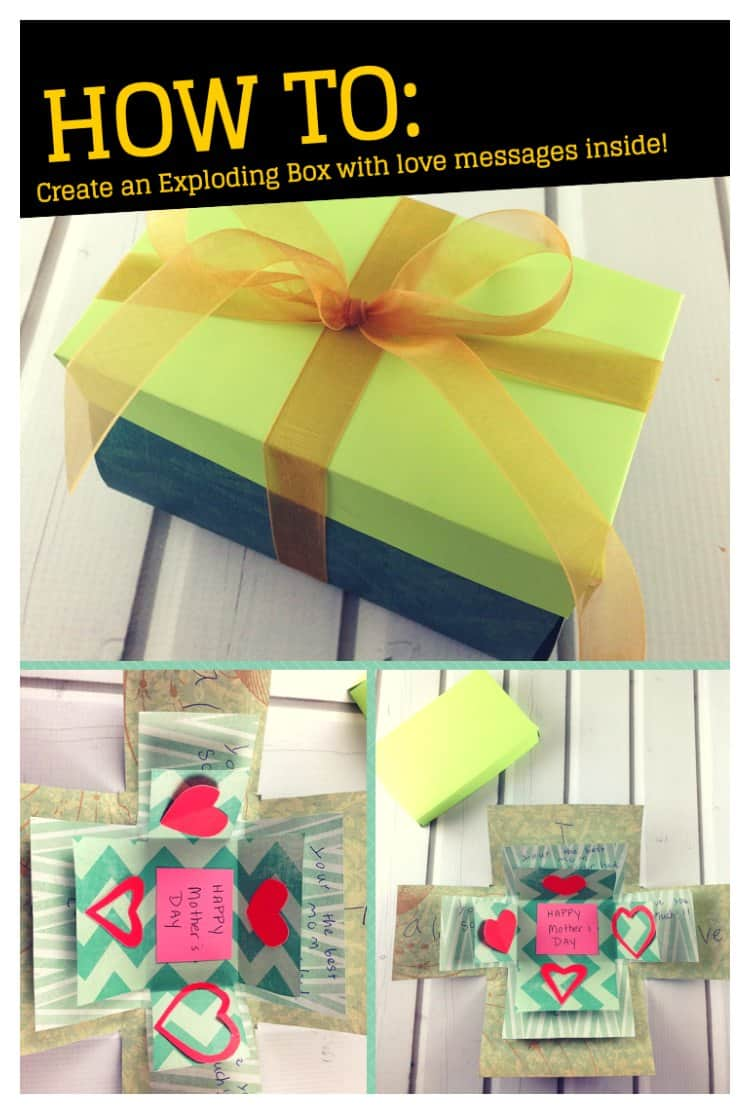 exploding box card with love messages  isavea2z