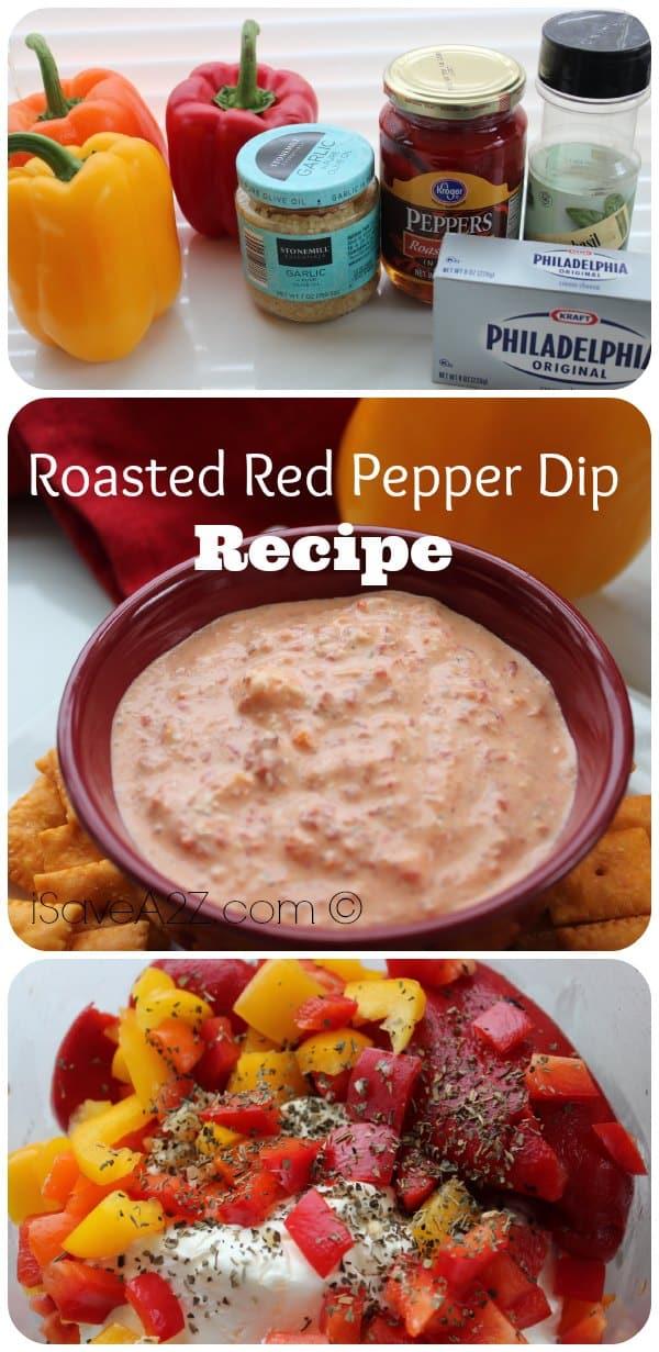 Roasted Red Pepper Dip - iSaveA2Z.com