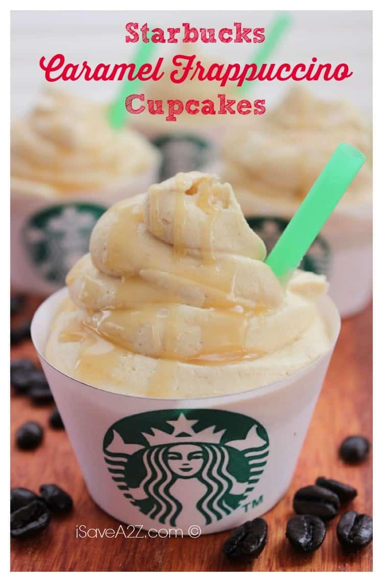 Easy Starbucks Caramel Frappuccino Cupcakes Recipe Isavea2z Com