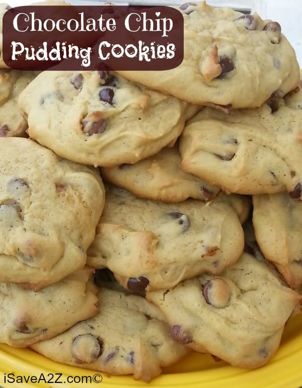 chocolate chip pudding chocolate chip pudding cookies chocolate chip ...