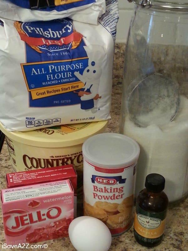 Easy Jello Flavored Cookies