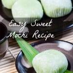 Easy Sweet Mochi Recipe