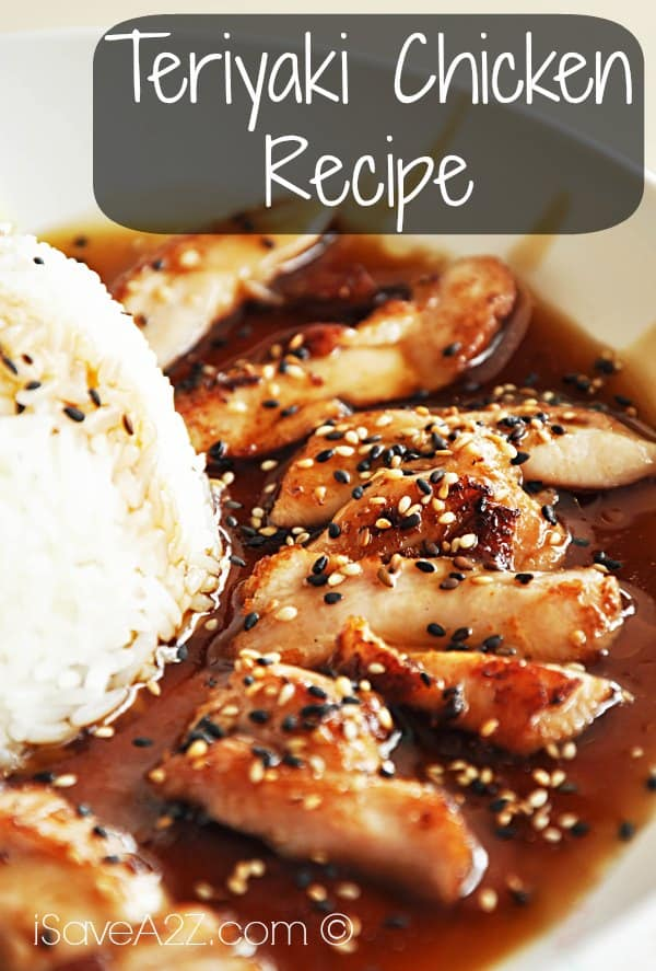 Teriyaki Chicken Recipe Isavea2z Com