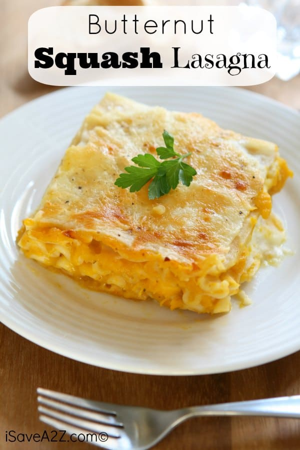 Butternut Squash Lasagna Recipe! A lighter alternative and SO YUMMY!!