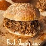 Best Sloppy Joes Recipe
