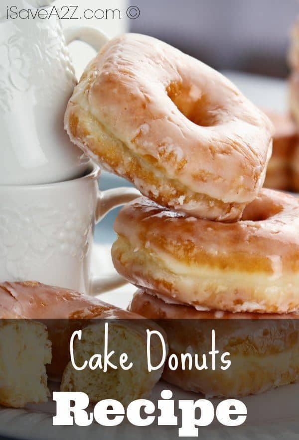 Basic Cake Donut Recipe