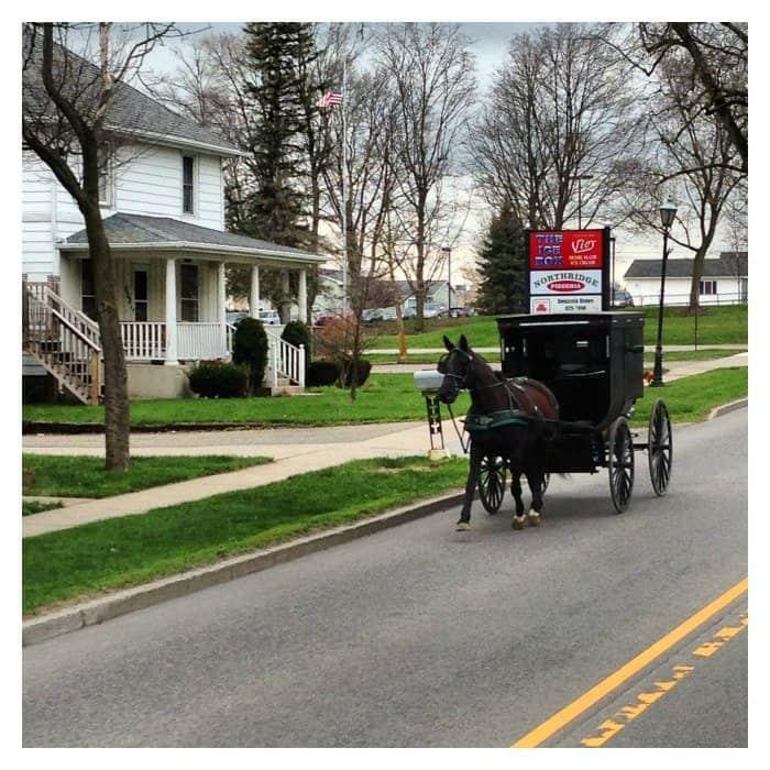 Amish is Middlebury Indiana