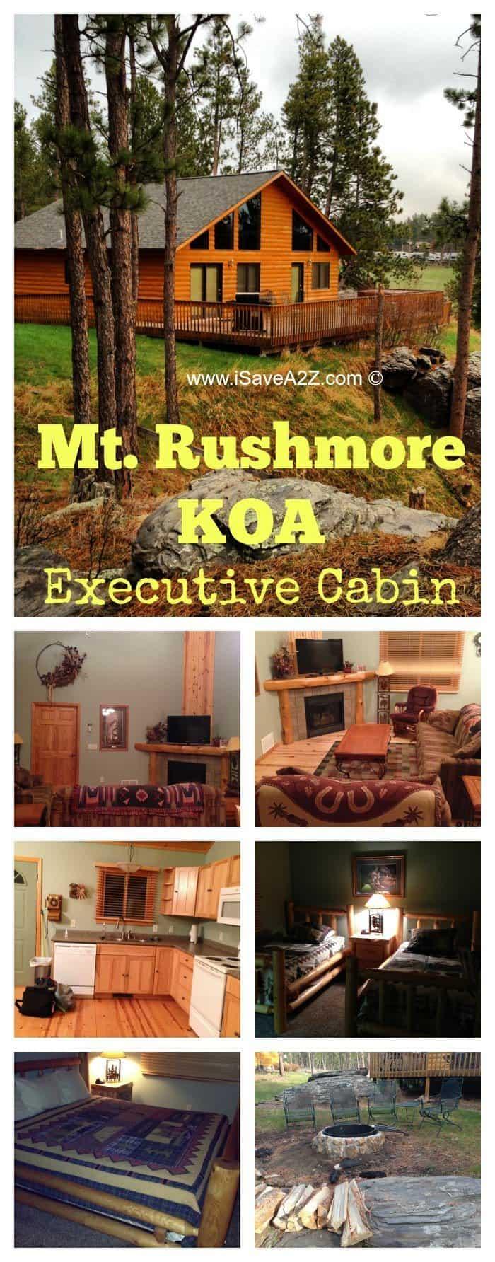 Mt Rushmore KOA Executive Cabins