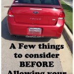 Preparing your Teenager for Driving