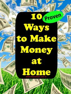 10 Ways to make Money at Home