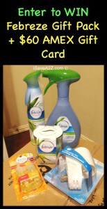 We Took the #NoseBlind Febreze Test!  Plus a Giveaway #Sponsored