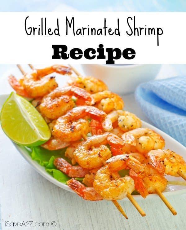 Grilled Marinated Shrimp - iSaveA2Z.com