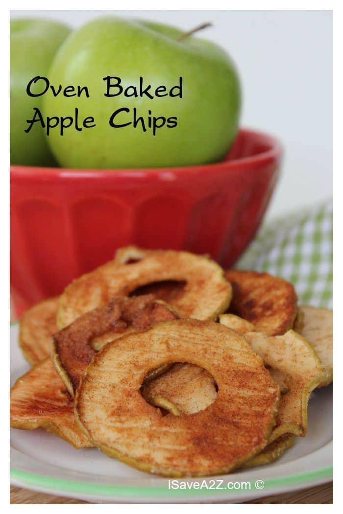 Oven Baked Cinnamon Apple Chips Recipe Isavea2z Com