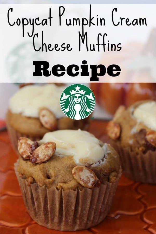 Copycat Pumpkin Cream Cheese Muffins