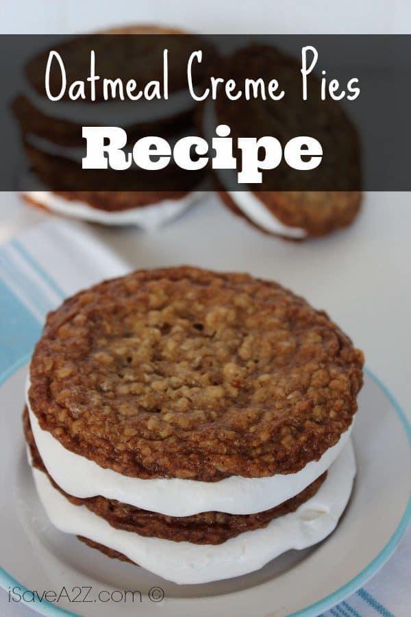 Oatmeal Creme Pies - iSaveA2Z.com