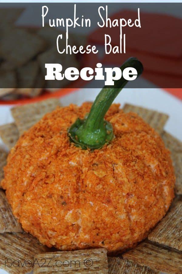 Pumpkin Shaped Cheese Ball Isavea2z Com