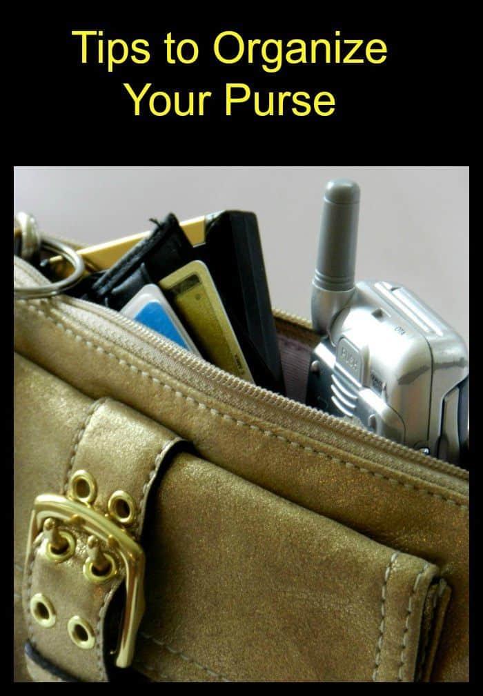 How to Organize Your Purse or Handbag