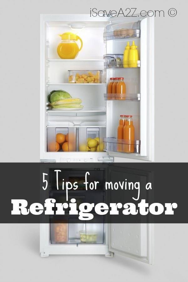 5 tips for moving a refrigerator. Black Bedroom Furniture Sets. Home Design Ideas