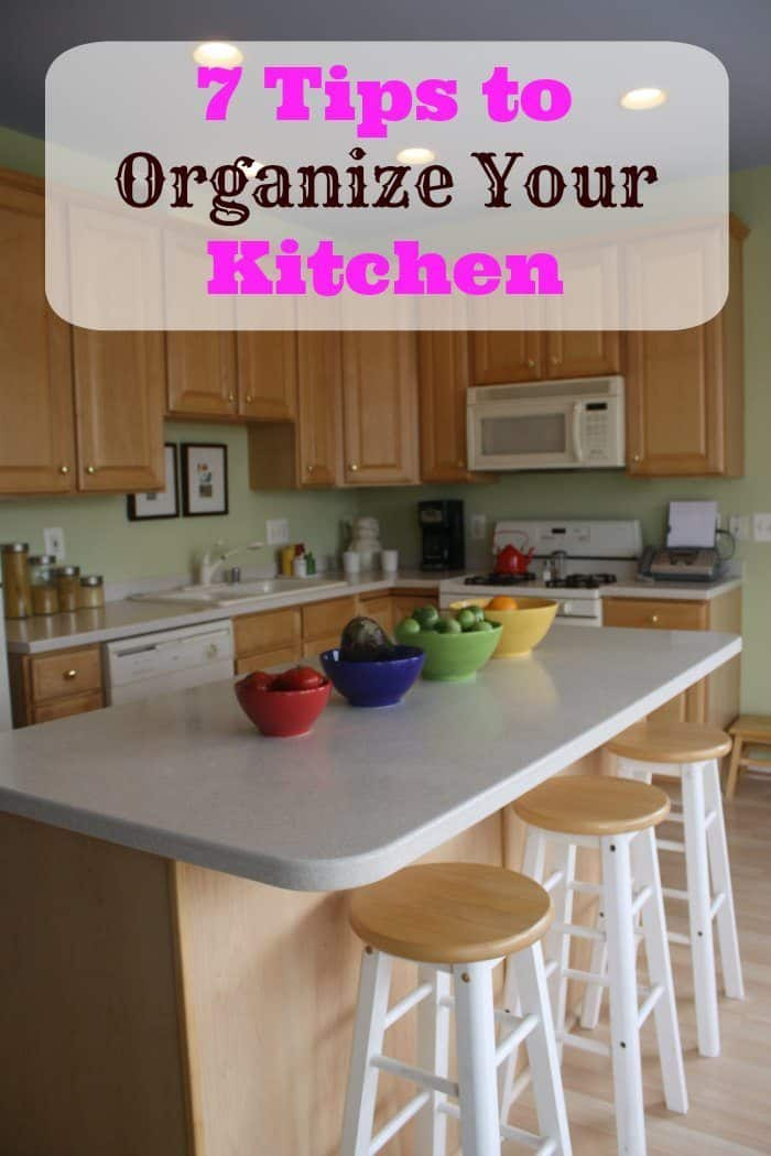 Tips To Organize Your Kitchen ISaveAZcom - Best way to organize kitchen cabinets
