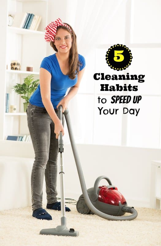 how to make cleaning a habit