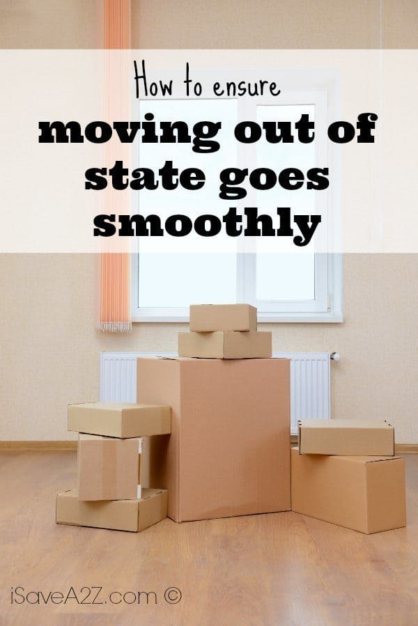 How To Ensure Moving Out Of State Goes Smoothly