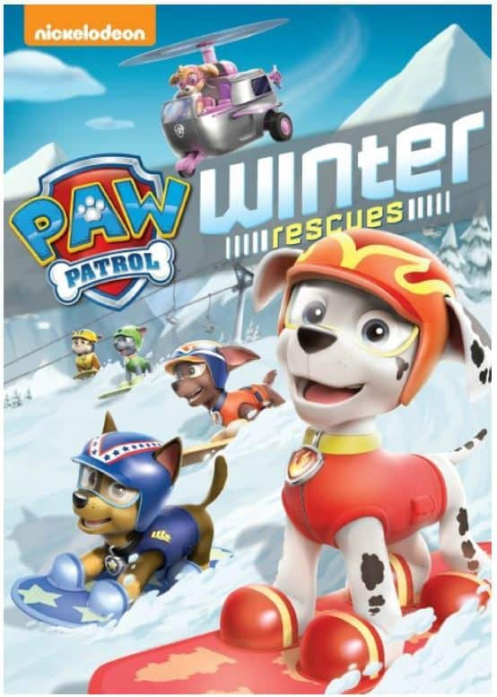 Winter Toys 10 And Up : Paw patrol winter rescues dvd october