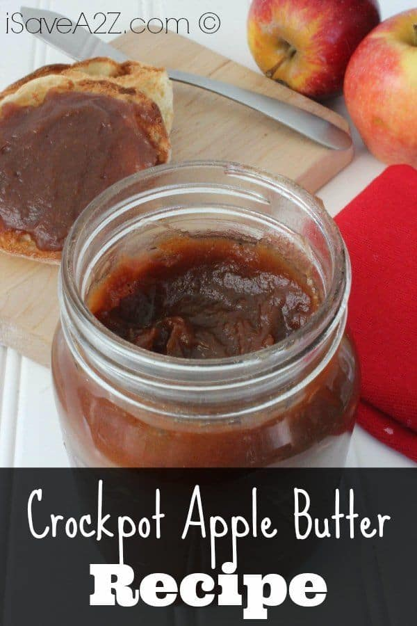 Crockpot Apple Butter - iSaveA2Z.com