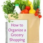 How to Organize a Grocery Shopping List