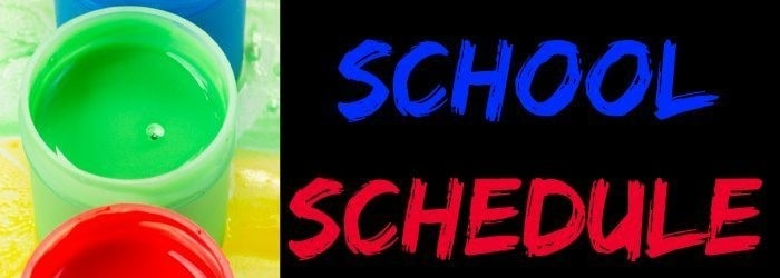 How to Organize a Home School Schedule