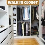 How to Organize a Walk In Closet