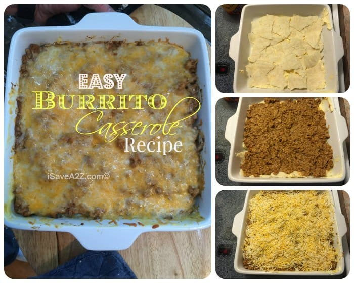Easy Burrito Casserole Recipe