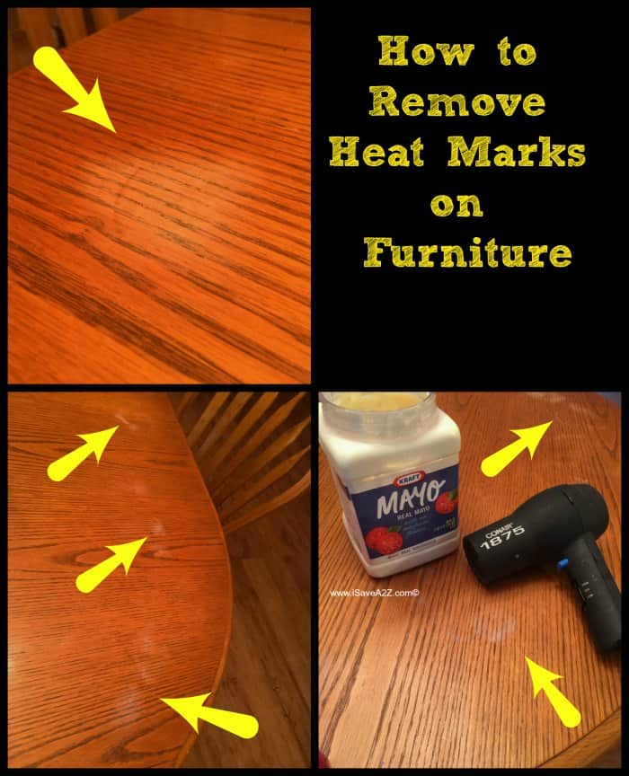 How To Remove Heat Marks From Furniture Isavea2z Com