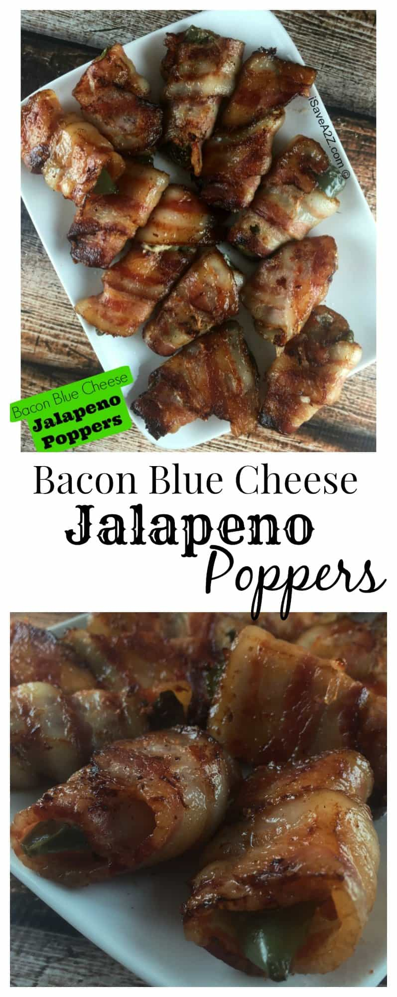 Bacon Blue Cheese Jalapeno Poppers Recipe