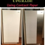 Contact Paper Craft Ideas:  Freezer Update