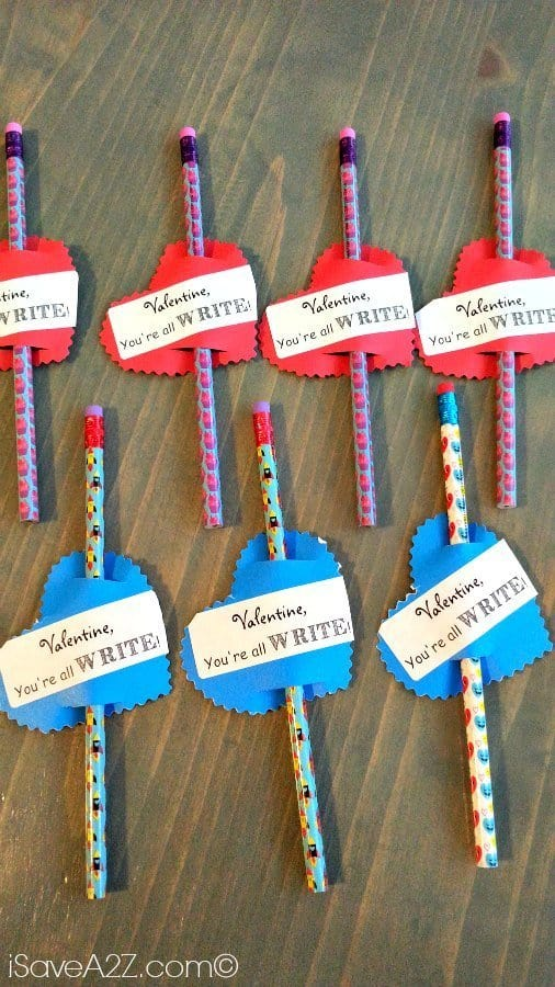 Valentine Arrow Pencils