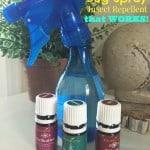 Homemade Natural Bug Spray using Essential Oils