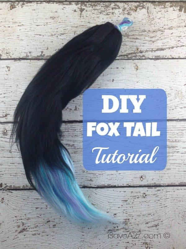 Diy Fox Tail Tutorial Isavea2z Com