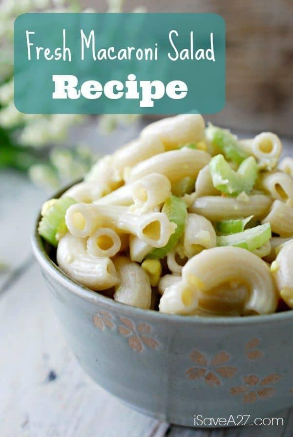 Fresh Macaroni Salad