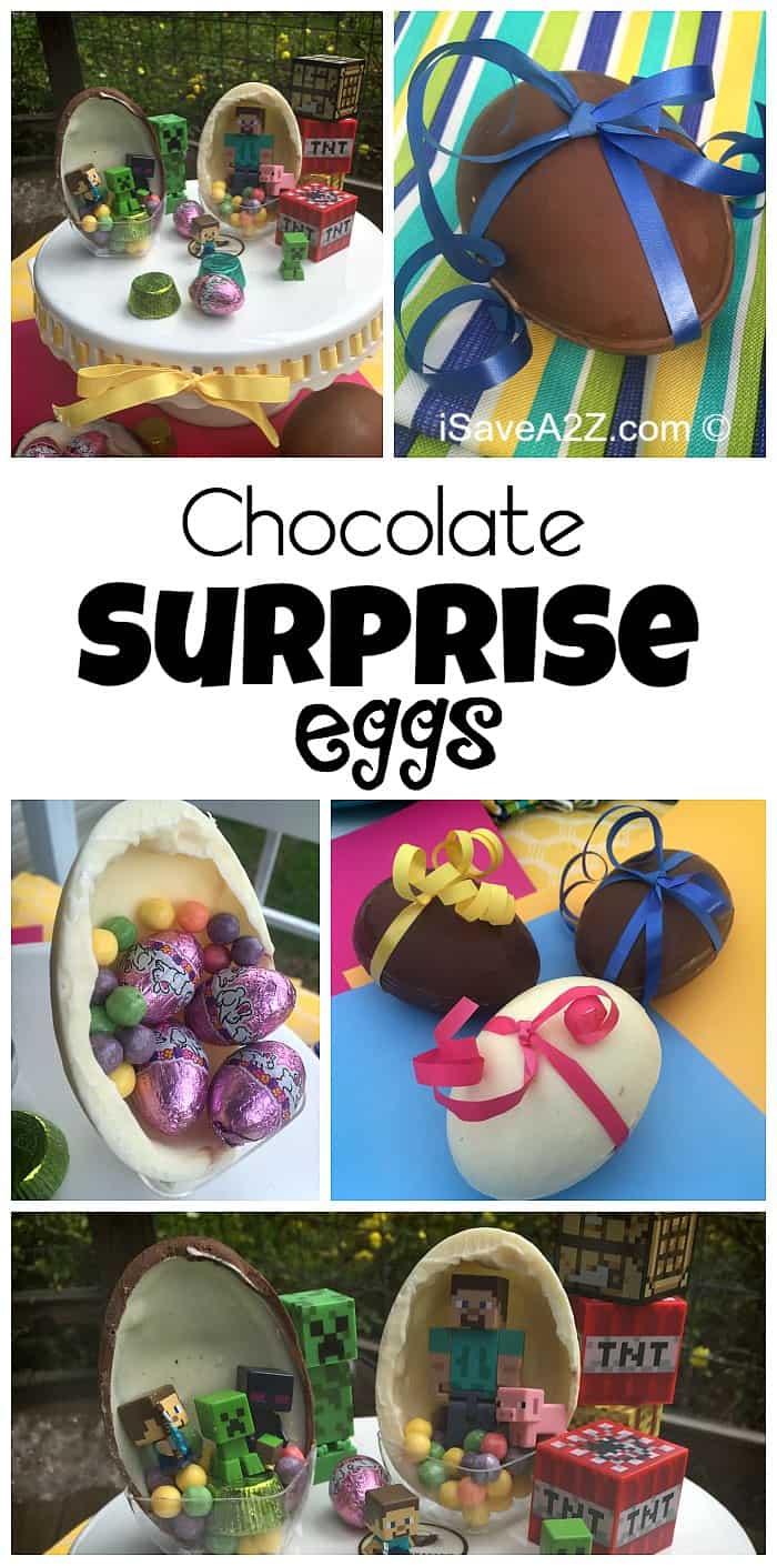 Homemade Surprise Chocolate Eggs - iSaveA2Z.com