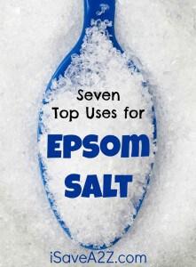 Seven Top Uses for Epsom Salt