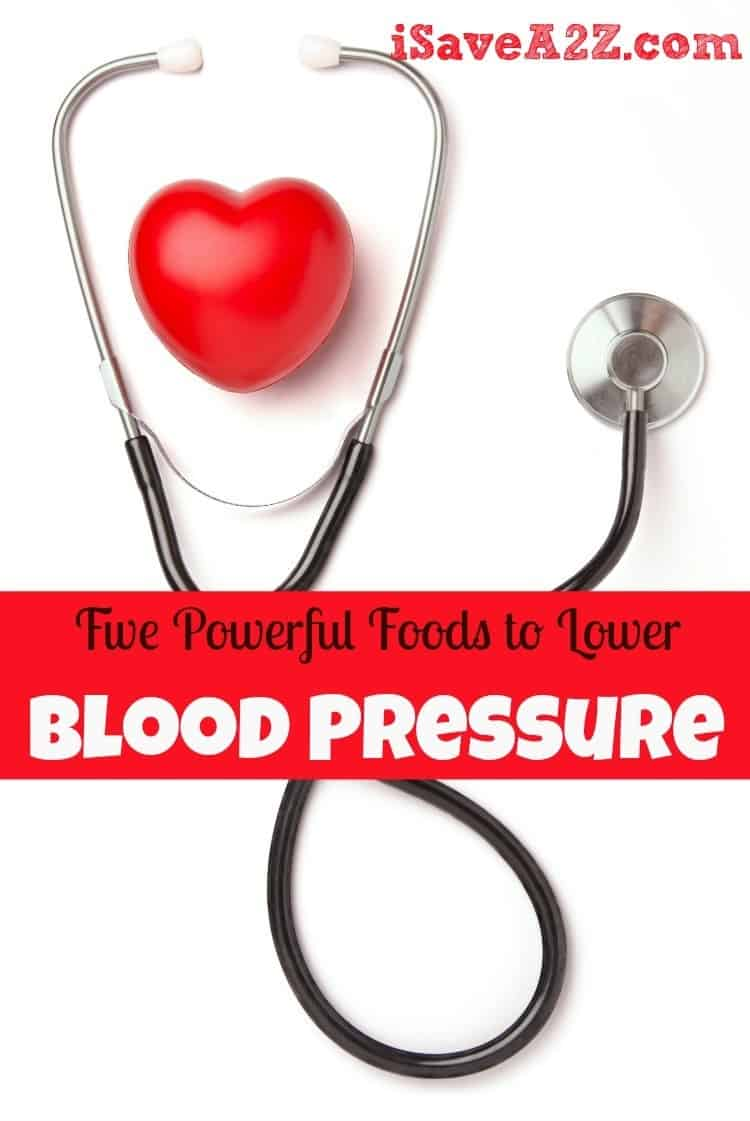blood pressure lower foods powerful five isavea2z
