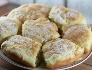 Old Fashion Buttermilk Biscuits Technique